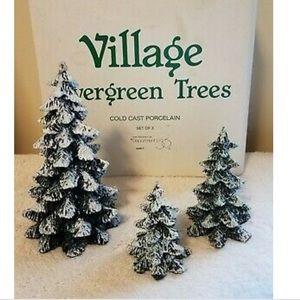 🌲Department 56 Village Evergreen Trees 🌲